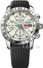 Chopard Classic Racing GMT Chrono Silver colored/Rubber Ø42.5 mm