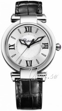 Chopard Imperiale Silver colored/Leather Ø36 mm