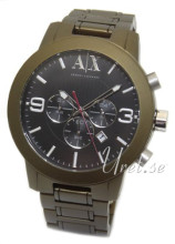 Emporio Armani Exchange Chronograph Black/Steel Ø48.00 mm