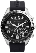 Emporio Armani Chronograph Black/Rubber Ø47.00 mm