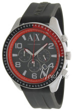 Emporio Armani Exchange Chronograph Black/Rubber Ø47.00 mm