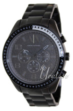 Emporio Armani Exchange Chronograph Black/Steel Ø47.00 mm