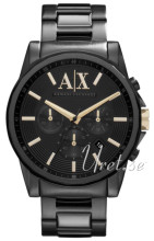Emporio Armani Exchange Black/Steel Ø45.00 mm