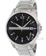 Emporio Armani Exchange Dress Black/Steel Ø46.00 mm