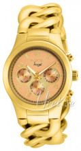 Invicta Angel Rose gold colored/Yellow gold toned steel Ø38.00 m