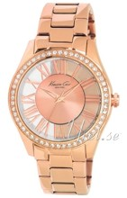 Kenneth Cole Ladies Gold Tone Rose gold colored/Rose gold colore