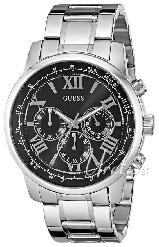 guess steel watch instructions