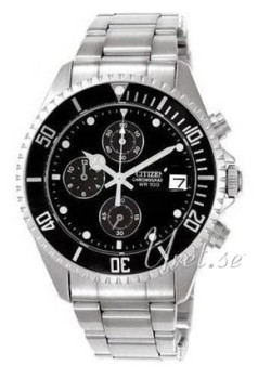 Citizen Sport Chrono Black/Steel