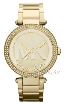 Michael Kors Parker Yellow gold/Gold plated Ø38 mm