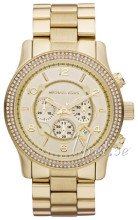 Michael Kors Chronograph Yellow gold toned/Yellow gold toned ste